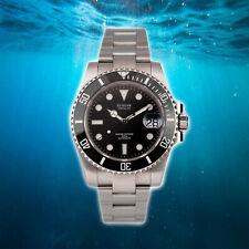 SUSSAR Sapphire Date Ceramic Bezel 904L Steel 200m DIVER Watch SU116610LN New