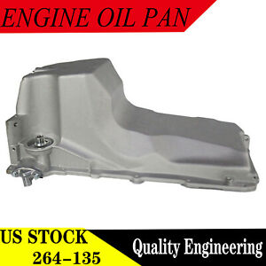 Engine Oil Pan fits 99-07 Cadillac Chevy GMC Hummer Pickup Truck 4.8L 5.3L 6.0L
