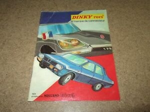 252Q Catalogue DINKY 1971 Original And Full / Complete 24 Pages Meccano Triang