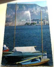 Switzerland Geneve la Rade Jet L'eau Saleve 429 Iris - posted 1962