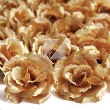 20pcs Artificial Flower Heads Big Rose Wedding Pary Decor Bridal 70mm Wholesale