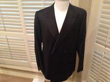 $2995  Ermenegildo Zegna  DOUBLE BREASTED suit SIZE U.S. 44R EU 54 HAND MADE