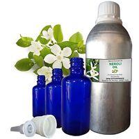 Pure Neroli Oil 100% Natural Essential Oil Therapeutic Grade Undiluted 5- 250ml