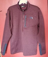 The North Face Canyonlands Mens 1/2 Zip Sienna Brown Pullover Jacket Sz L