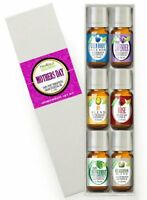 Mother's Day Essential Oil Set (100% Pure & Natural) Therapeutic Grade - 6/10ml