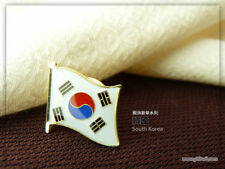 South Korea  badge Country Flag Lapel Hat Cap Tie Pin Badge -20mm*15mm.