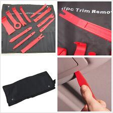 11 Pcs Red Plastic Car Auto Interior Door Panel Pry Open Tool Audio Removal Kit