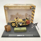 1/24 BMW R75 Motorcycle World War II 1939-1945 Yellow Diecast Model Collection