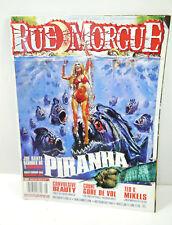 Rue Morgue Booklet 103/2010 Magazine Magazine Horror Piranha (WR8)