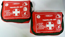 2x Erste Hilfe Tasche Outdoor Set Verbandsmaterial Notfall Wandern Fahrrad