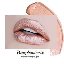 JOUER Lip Creme LIQUID LIPSTICK PAMPLEMOUSSE Metallic NEW In Box AUTHENTIC