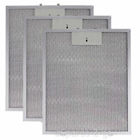 3 x Grease Filters For STOVES BELLING Cooker Hood Extractor Vent Fan 320 260mm