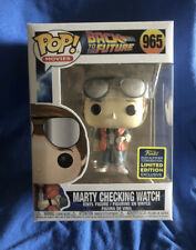 Funko Pop Movies Back to The Future Marty Checking Watch FUNKO EXCLUSIVE