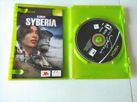 Syberia (Microsoft Xbox, 2003) COMPLETE TEEN MICROIDS FAST SHIPPING