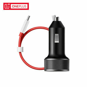 For Oneplus 3T 5 5T 6 Original One Plus 6 Dash Charger Car Charger+Type-C Cable