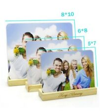 New! Photo Frame, 3 of the Acrylic Photo frame, 6x8, 5x7, 8/10, Orig $40