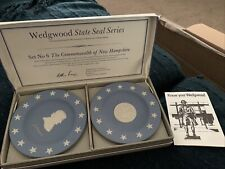 Vintage Wedgwood State Seal Series #6 for New Hampshire