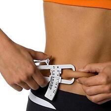 Personal Body Fat Loss Ruler Tester Calculator Caliper Clip Fat Measurement Tool