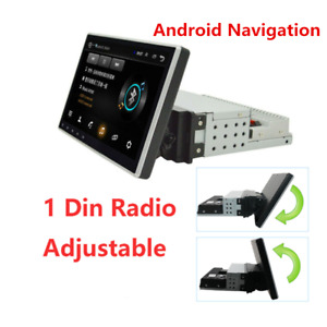 1 Din Android Adjustable Multimedia Player Autoradio Touch Screen GPS Navigation