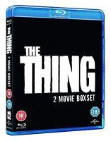 THE THING 2-Movie Set [Blu-ray] 1 & 2 Kurt Russell 1982 Original + 2011 Prequel