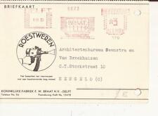 DELFT 1930 Koninklijke Fabriek FW. BRAAT Roestwerken Roodfrankering