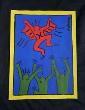Keith Haring, drawing on paper, vintage, rare,