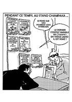 AMUSANTE CP PASTICHE d´après Yves CHALAND /TL 50 ex N° / PARODIE  FREDDY LOMBARD