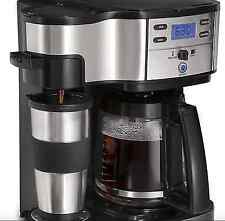 New Automatic 12 Cup Coffeemaker Percolater Quick Roast Black Stainless Steel
