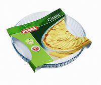 Pyrex Super Heat Resistant & Oven and Microwave Safe Flan Dish 26cm