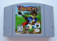 Quest Nintendo 64 N64 OEM Authentic Video Game Cart RPG Magic Role Playing GOOD