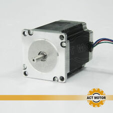 ACT MOTOR GmbH 1PC Nema23 Stepper Motor 23HS5420 51mm 2A Bipolar 0.9Nm φ6.35mm