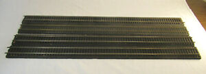 """4 Sections of O Scale 36"""" Genuine Tru-Scale Road Bed - 2-Rail"""