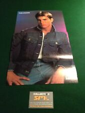 "TOM CRUISE Poster Le Lundi French Magazine November 28th 1987 10-3/4"" x 18"""