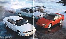 1994 Mitsubishi Brochure: 3000GT,DIAMANTE,GALANT,ECLIPSE,MIRAGE,MONTERO,PickUp,