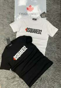 DSQUARED2 Short Sleeves Slim Fit T-Shirt Dsquared2 Logo 2021 Season