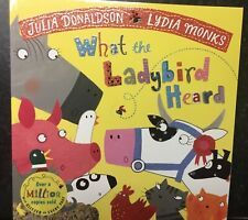 Julia Donaldson: Early Reader Story Book - Time to Read: WHAT THE LADYBIRD HEARD