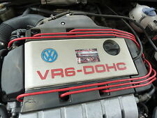 Encendido Rendimiento 8MM rojo lleva para VW Golf OBD1 Corrado Passat VR6 Calidad