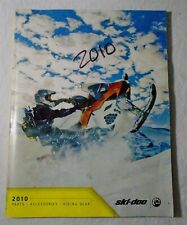 2010 Bombardier Skidoo snowmobile Parts Accessories & Riding Gear catalogue