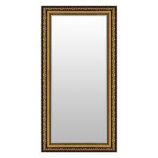 Spiegel mit Facettenschliff 104 X 53cm Wandspiegel Gold