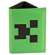 Bolsillo De Minecraft Creeper Tri-Fold Cartera de Nylon