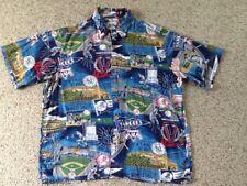REYN SPOONER NY YANKEES WORLD SERIES CHAMPIONSHIPS HAWAIIAN STYLE SHIRT XL