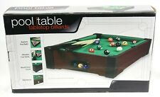 Pool Table - Tabletop Billiards Westminster # 72403 20 inches X 12 inches  x 4in