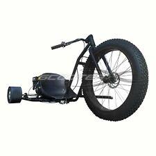 ScooterX 6.5Hp Drifter Go Cart Black Drift Trike Gas Powered Motorized 3 Wheeler
