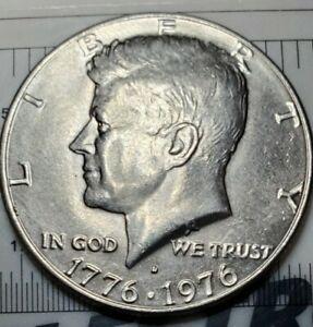 1976 D Bicentennial Kennedy Half Dollar DDR Doubled Reverse Rare Error UNC MS