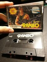 RAMBO : GAME MSX cassetta tape VISIOGAME 1986 ( NO COMMODORE 64 C64 C128 C16 )