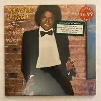 Michael Jackson - Off The Wall - Factory SEALED 1979 US 1st Press HYPE Sticker