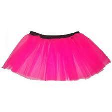 Uv Hot Pink Plus size tutu skirt  Petticoat Dance Fancy Party Clubwear Halloween