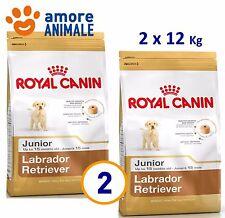 2 SACCHI - Royal Canin Labrador Junior 12 Kg - Crocchette per cane cani