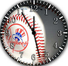 Yankees Twin Bells Alarm Desk Clock 4 Home Office Decor F139 Nice for Gifts