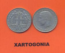 GREECE COINS 1968, 10 DRACHMAS VG-F CROWN HERCULES King KONSTANTINOS II (1 COIN)